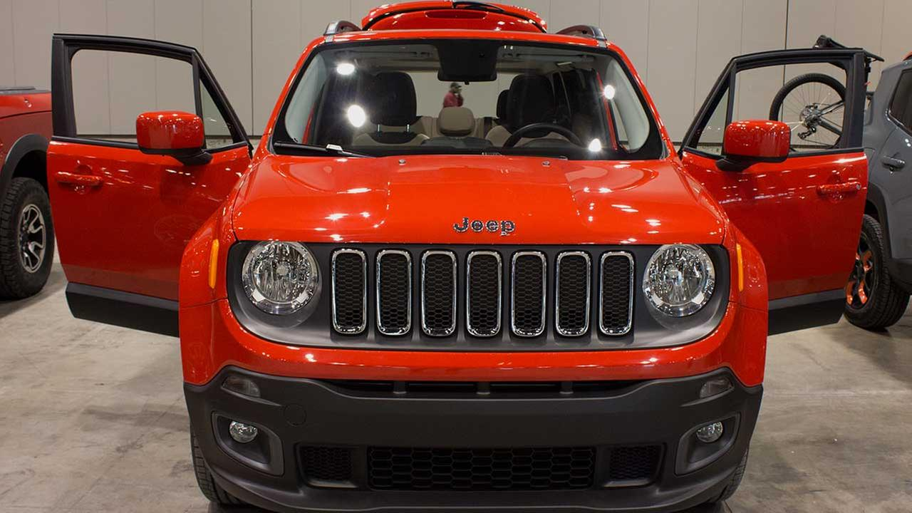 A 2015 Jeep Renegade during the Concept and Technology Garage event at the 2015 Chicago Auto Show on Feb. 11, 2015.