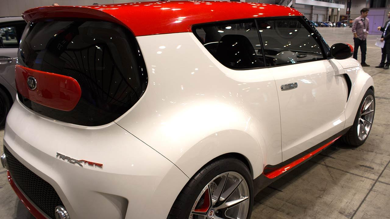 The 2015 Kia Trackster during the Concept and Technology Garage event at the 2015 Chicago Auto Show on Feb. 11, 2015.