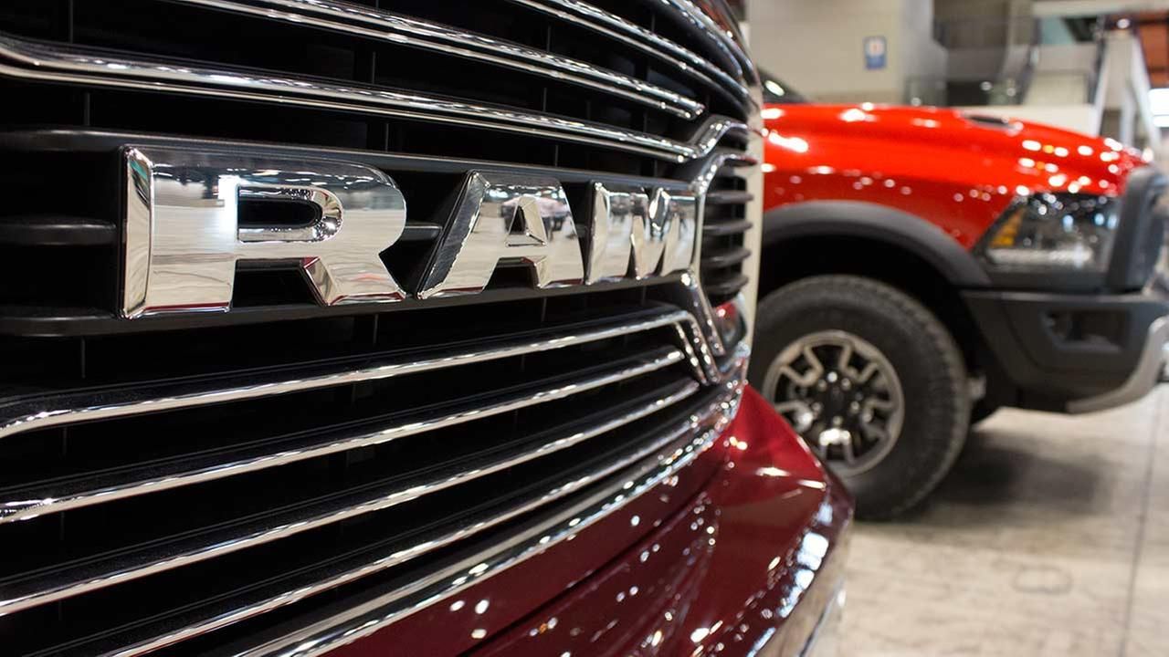 A close-up view of the 2015 Ram Limited during the Concept and Technology Garage event at the 2015 Chicago Auto Show on Feb. 11, 2015.