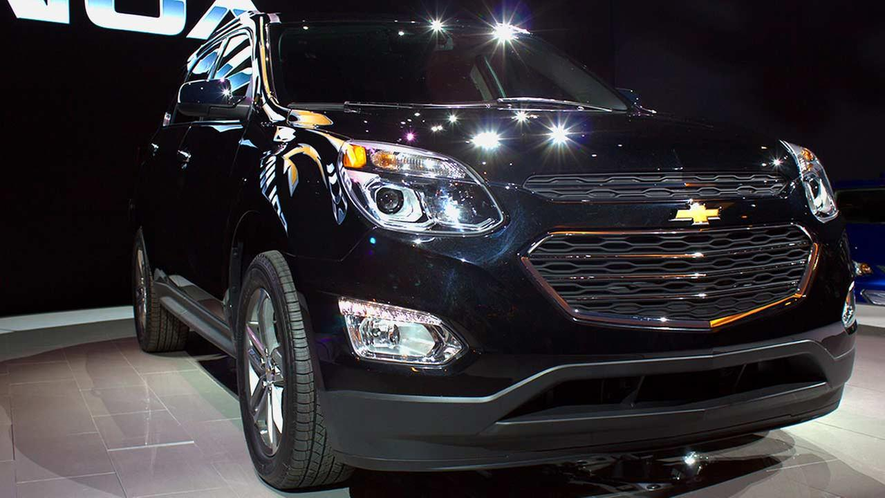Chevy unveiled its 2016 Equinox during the media preview of the 2015 Chicago Auto Show on Feb. 12, 2015.
