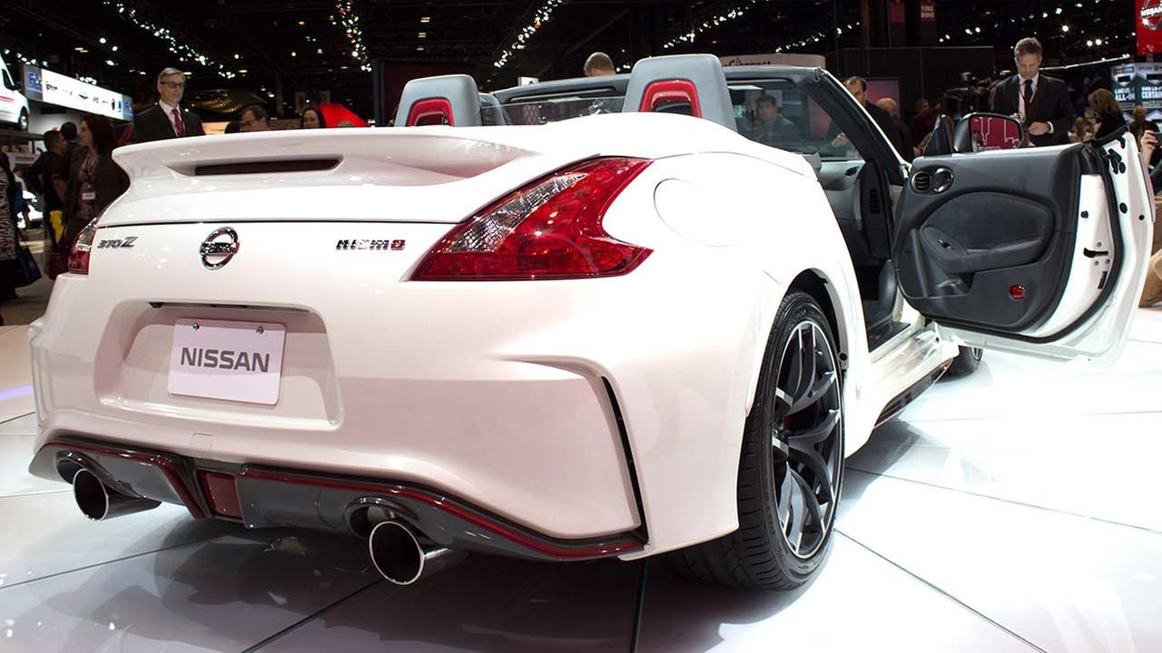 Nissan unveiled its 2016 Nismo 370Z roadster during the media preview of the 2015 Chicago Auto Show on Feb. 12, 2015.