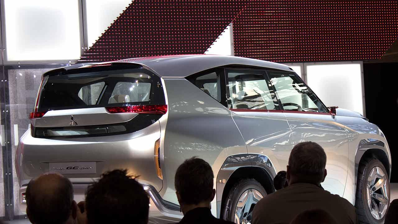 Mitsubishi unveiled its 2016 concept GC PHEV during the media preview of the 2015 Chicago Auto Show on Feb. 12, 2015.