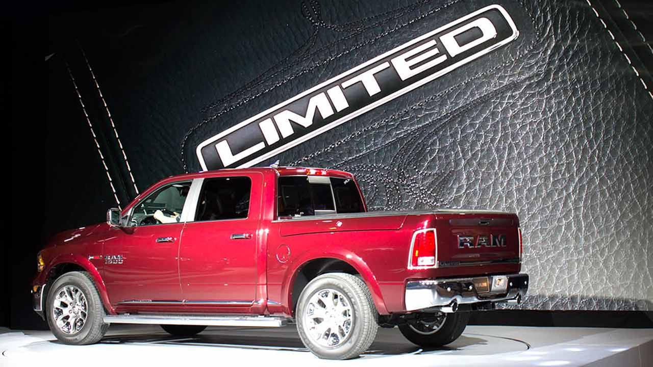 Ram unveiled its Ram Limited during the media preview of the 2015 Chicago Auto Show on Feb. 12, 2015.