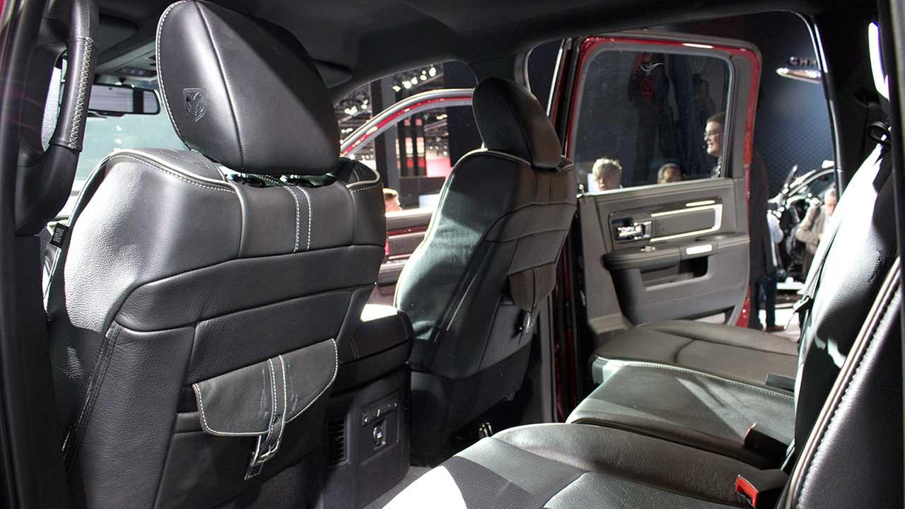 An inside view of the Ram Limited during the media preview of the 2015 Chicago Auto Show on Feb. 12, 2015.