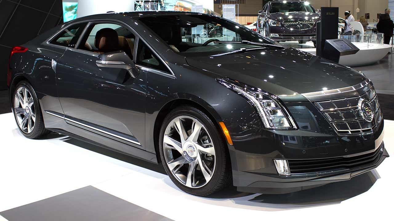 The 2015 Cadillac ELR on display at the Chicago Auto Show on Feb. 12, 2015.