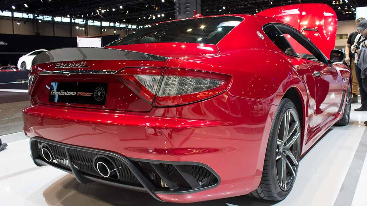 The 2015 Maserati GranTurismo MC on display at the Chicago Auto Show on Feb. 12, 2015.