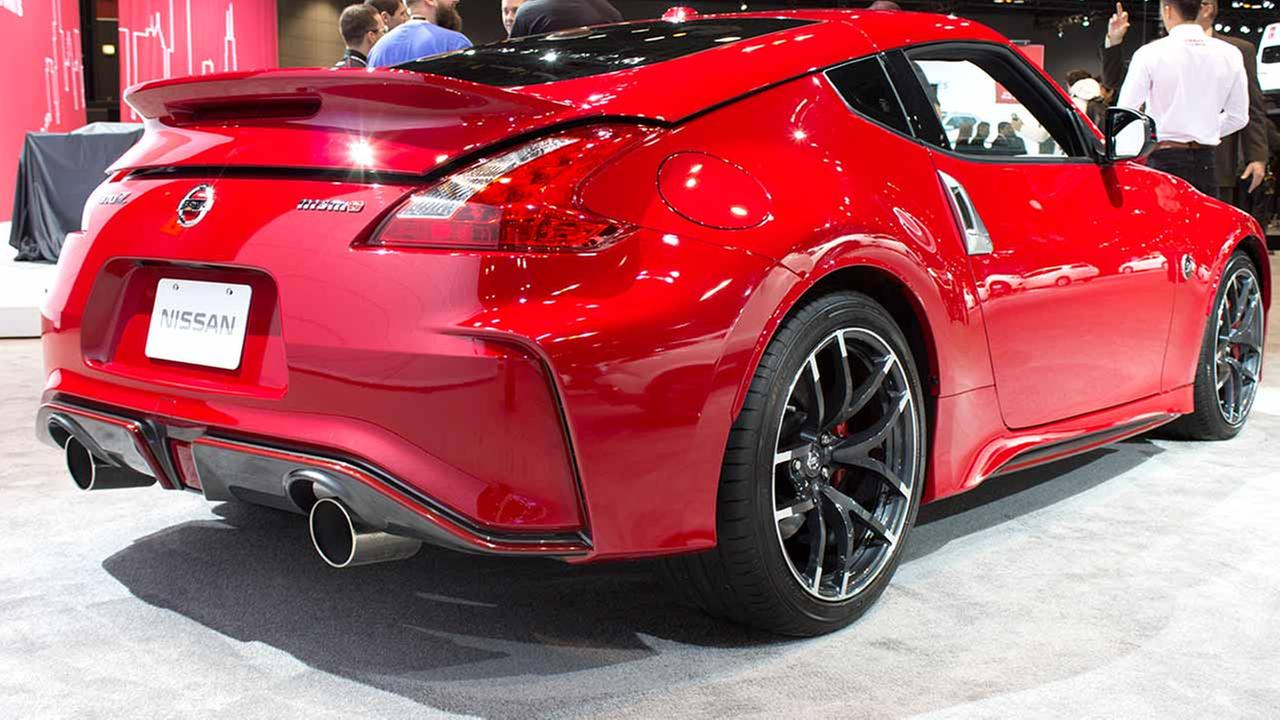 The 2015 Nissan Nismo 370Z on display at the Chicago Auto Show on Feb. 12, 2015.