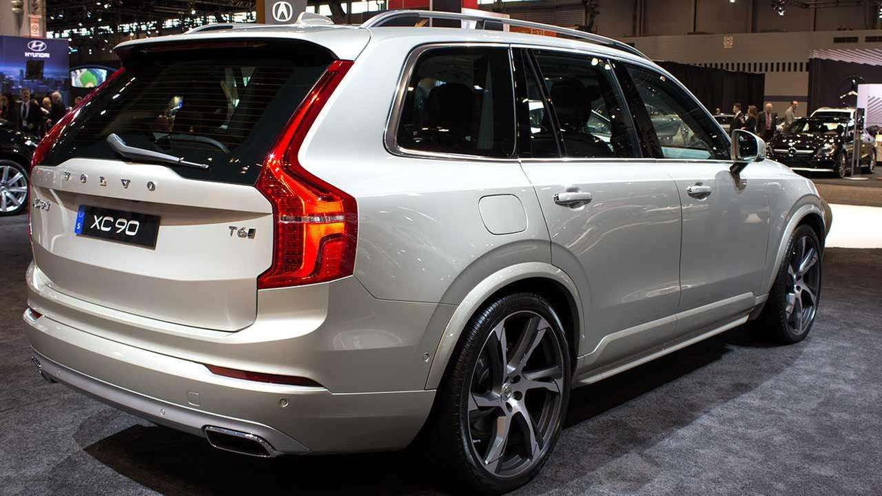 The 2015 Volvo XC90 T6 on display at the Chicago Auto Show on Feb. 12, 2015.
