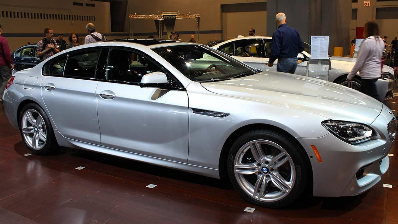 The 2015 BMW 650i xDrive Gran Coupe on display at the Chicago Auto Show on Feb. 13, 2015.
