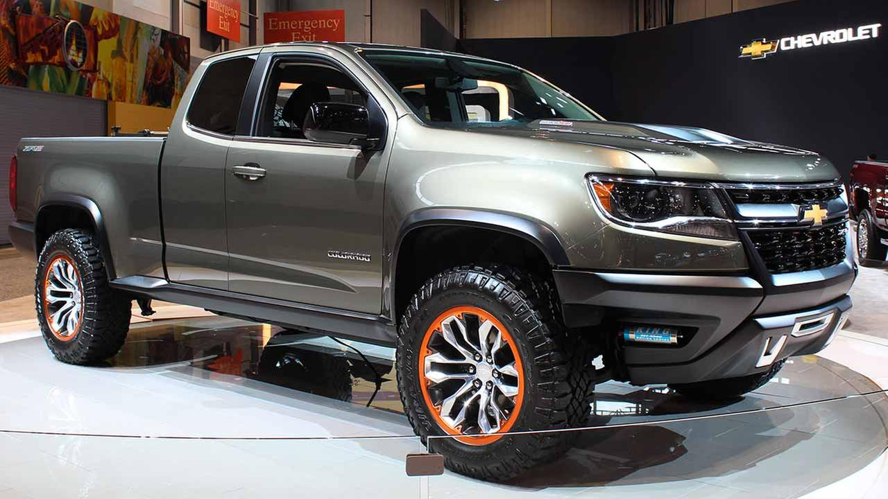 The 2015 Chevrolet Colorado ZR2 on display at the Chicago Auto Show on Feb. 13, 2015.