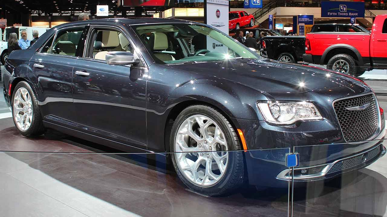 The 2015 Chrysler 300 on display at the Chicago Auto Show on Feb. 13, 2015.
