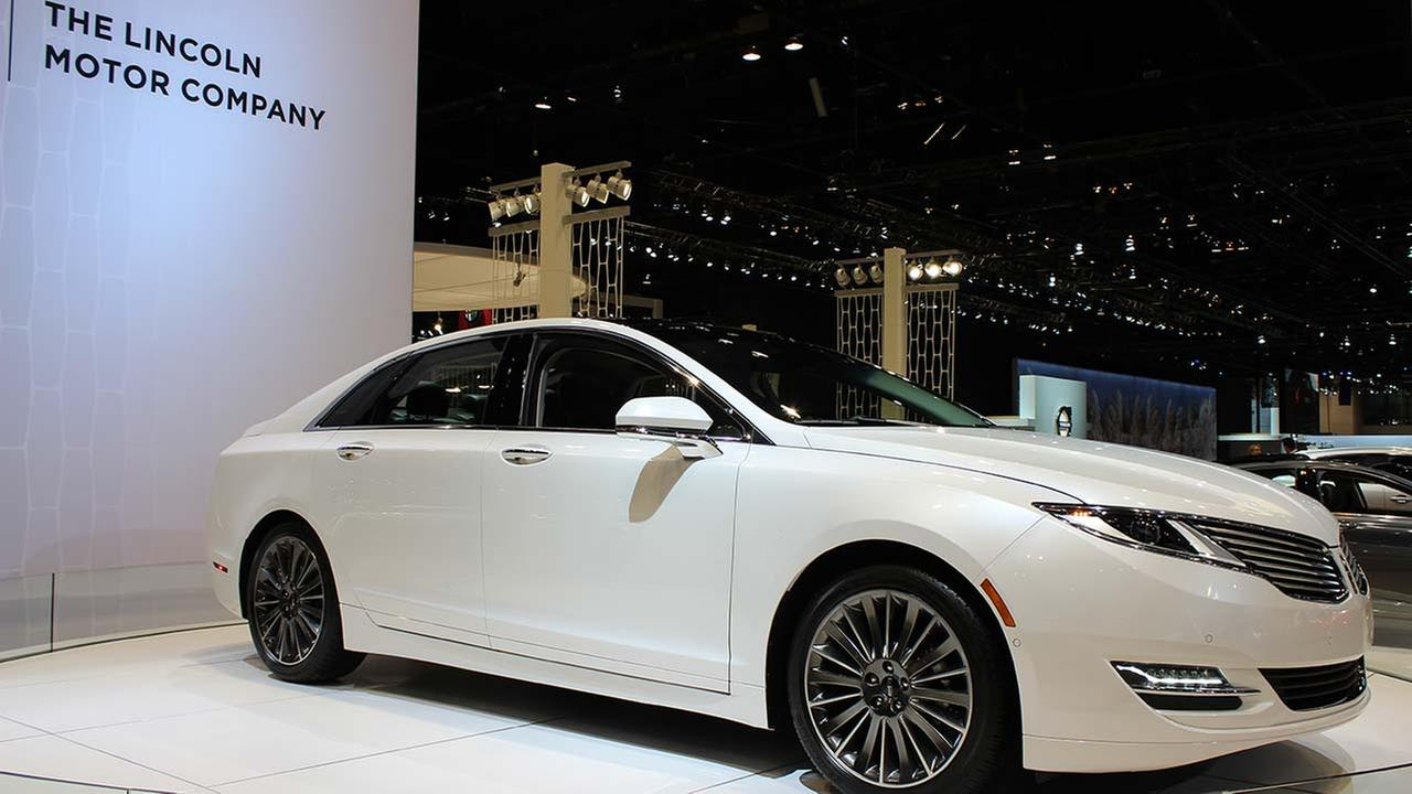The 2015 Lincoln 2.0H on display at the Chicago Auto Show on Feb. 13, 2015.