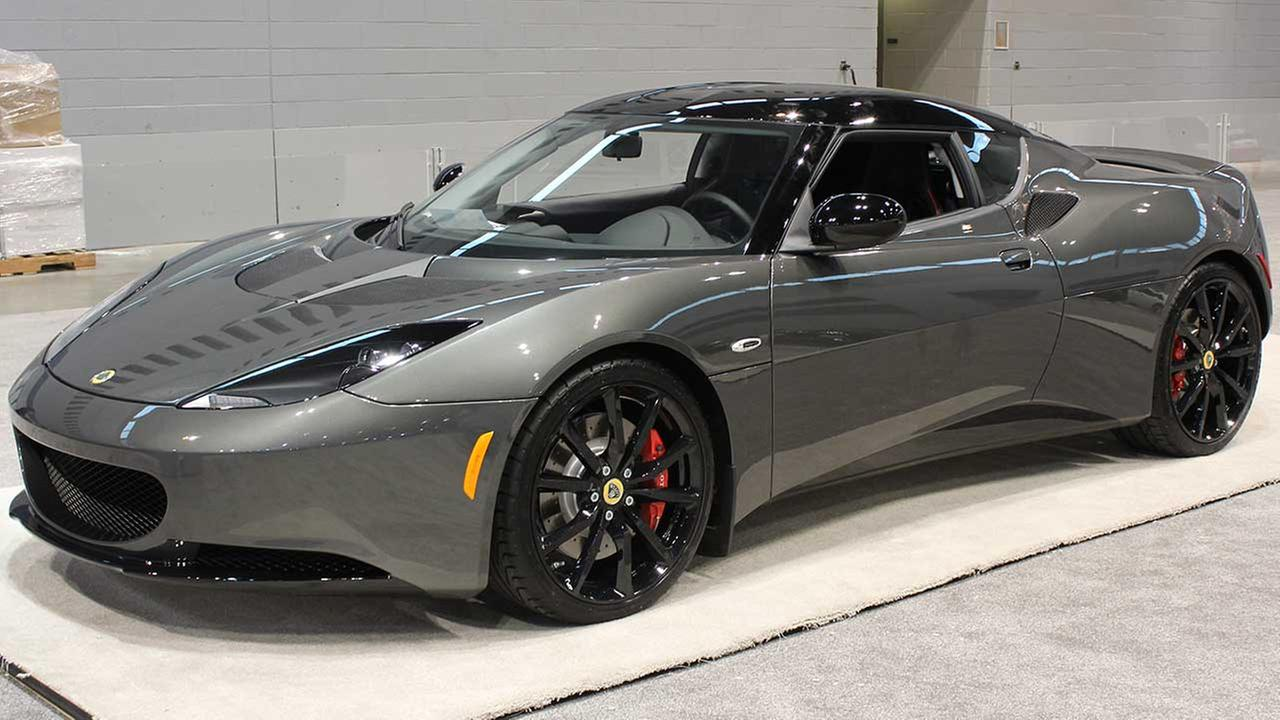 The Lotus Evora IPS 2+2 on display at the Chicago Auto Show on Feb. 13, 2015.
