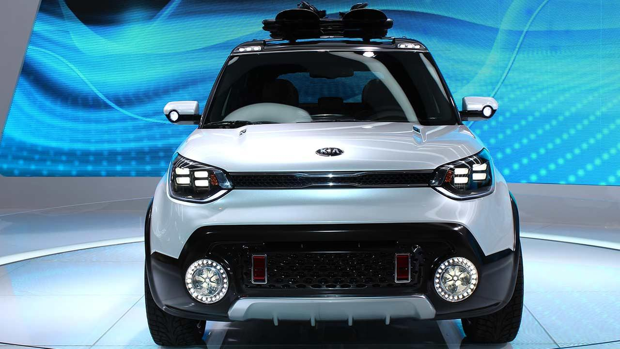 Kia unveiled its concept 2016 Trailster during the media preview of the 2015 Chicago Auto Show on Feb. 12, 2015.