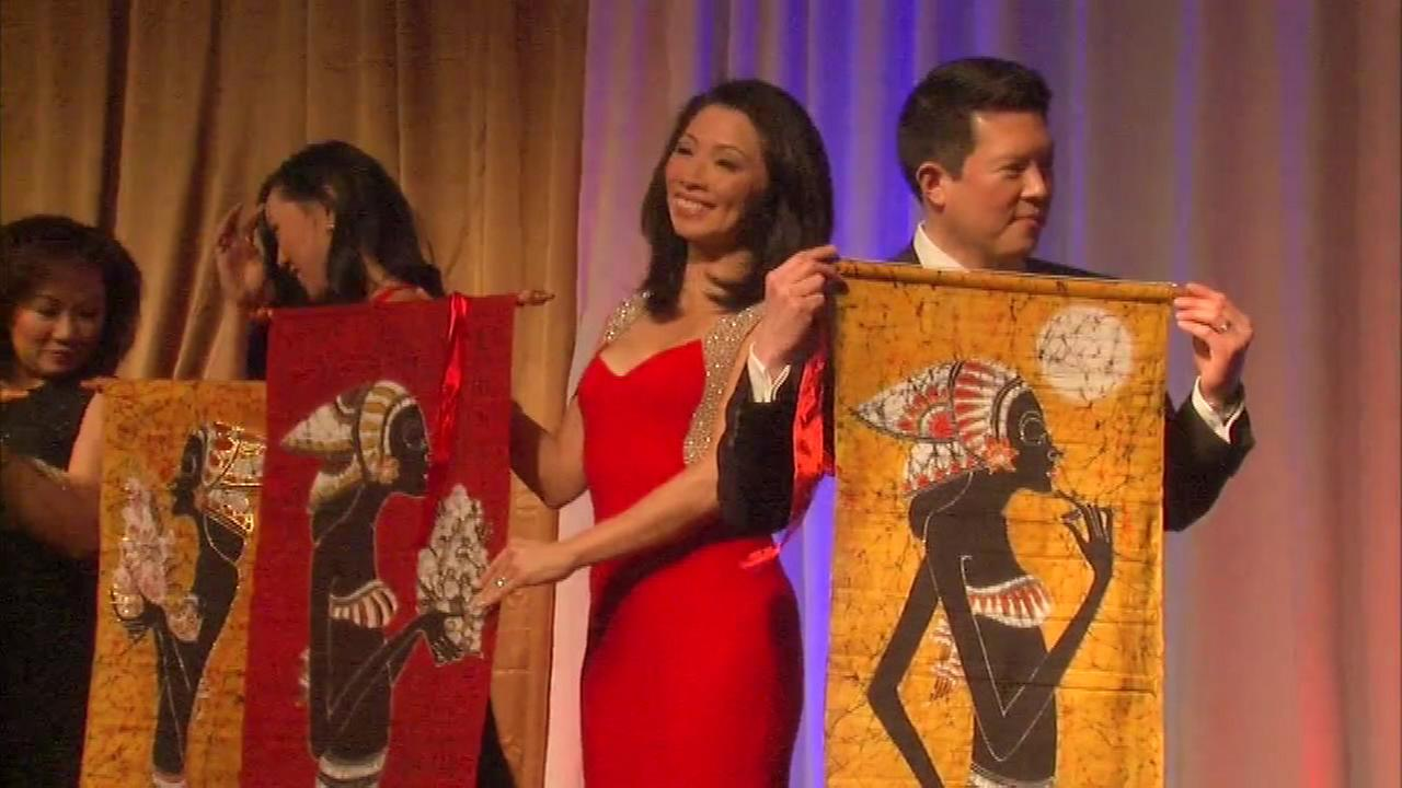 The 32nd annual Lunar New Year celebration was hosted by the Asian American Coalition, and was emceed by ABC7 Eyewitness News Judy Hsu and Eric Horng.