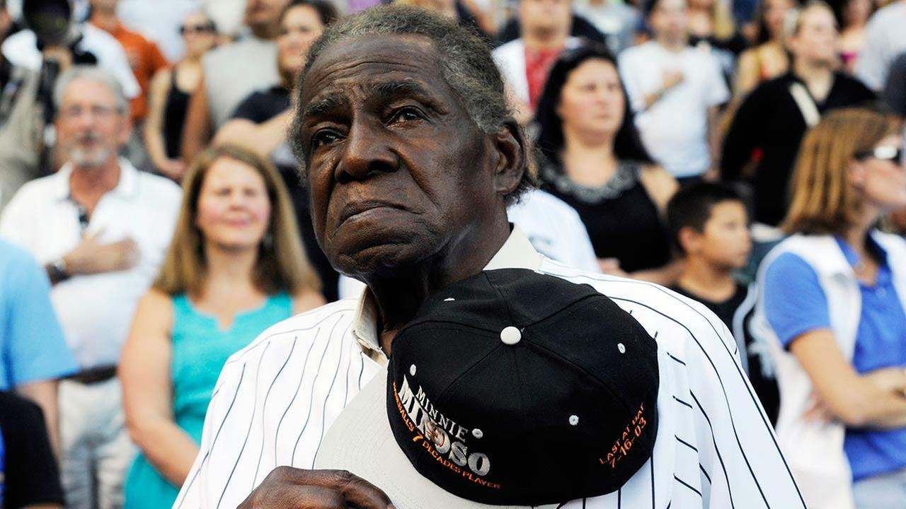 PHOTOS: White Sox legend Minnie Minoso dies