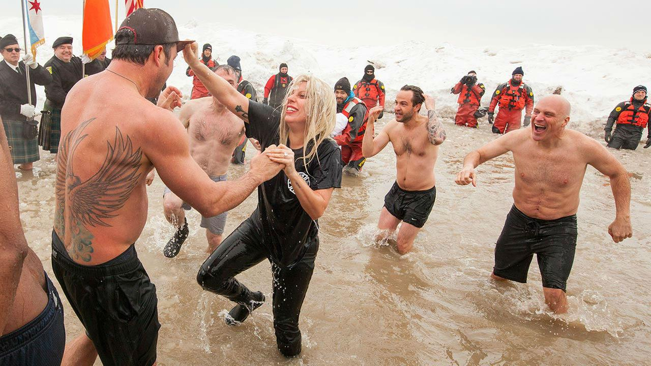 Vince Vaughn takes part in the Chicago Polar PlungeBarry Brecheisen