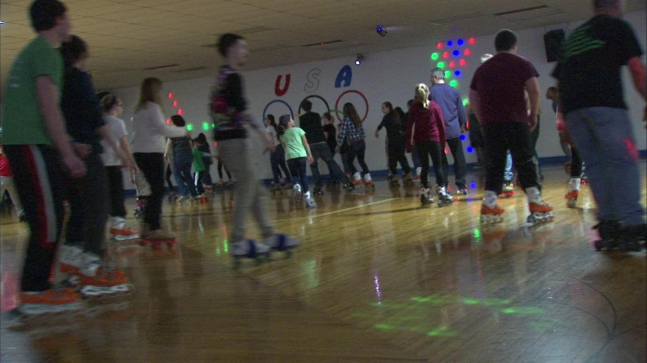 The USA Skate Center in Romeoville held its final skating session Sunday evening.