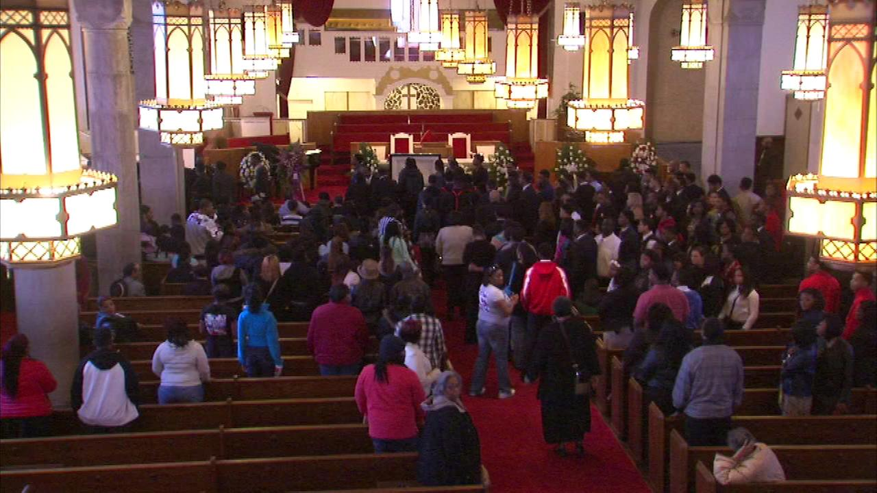 A funeral was held Saturday for 17-year-old Deonte Hoard.
