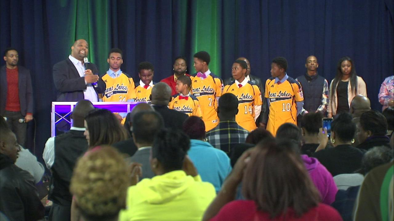 Jackie Robinson West Little League players are getting support from local churches as they fight to get their national title restored.