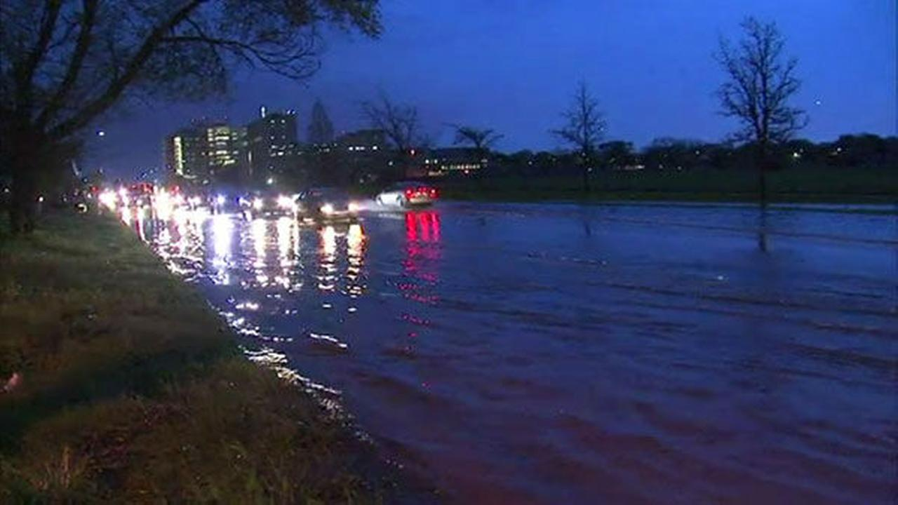 Severe Storms Flood Streets In North Suburbs