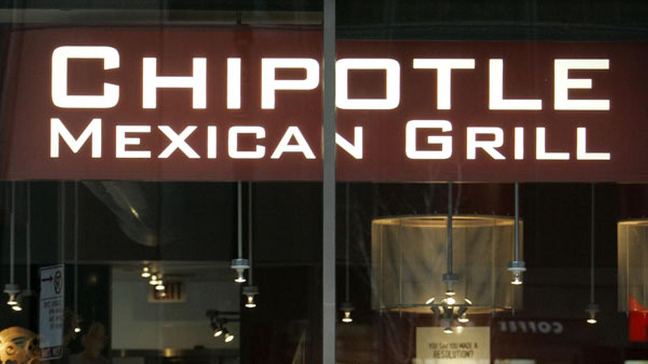 Undated file image of a Chipotle restaurant.