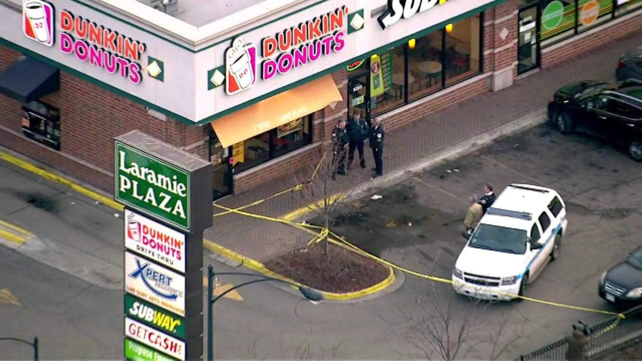 dunkin donuts shooting