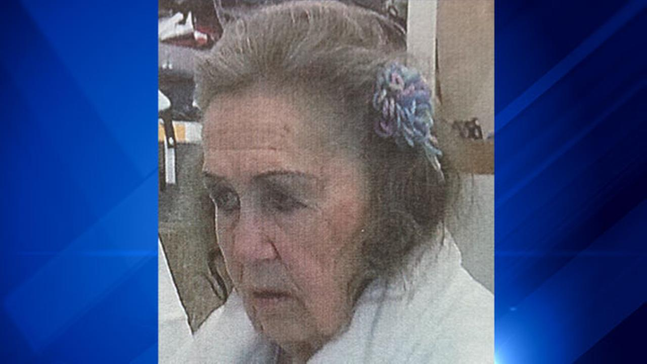 Gloria Atherton, 86, has recently been treated for heart failure and is missing from Ravenswood. She also suffers from dementia and schizophrenia.