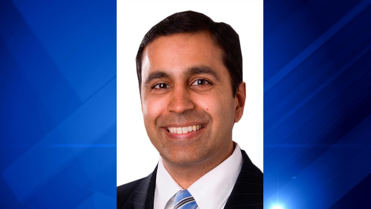 This undated photo released Jan. 14, 2010, by the candidate shows S. Raja Krishnamoorthi, a Democratic candidate for Illinois State Comptroller in the 2010, primary election.