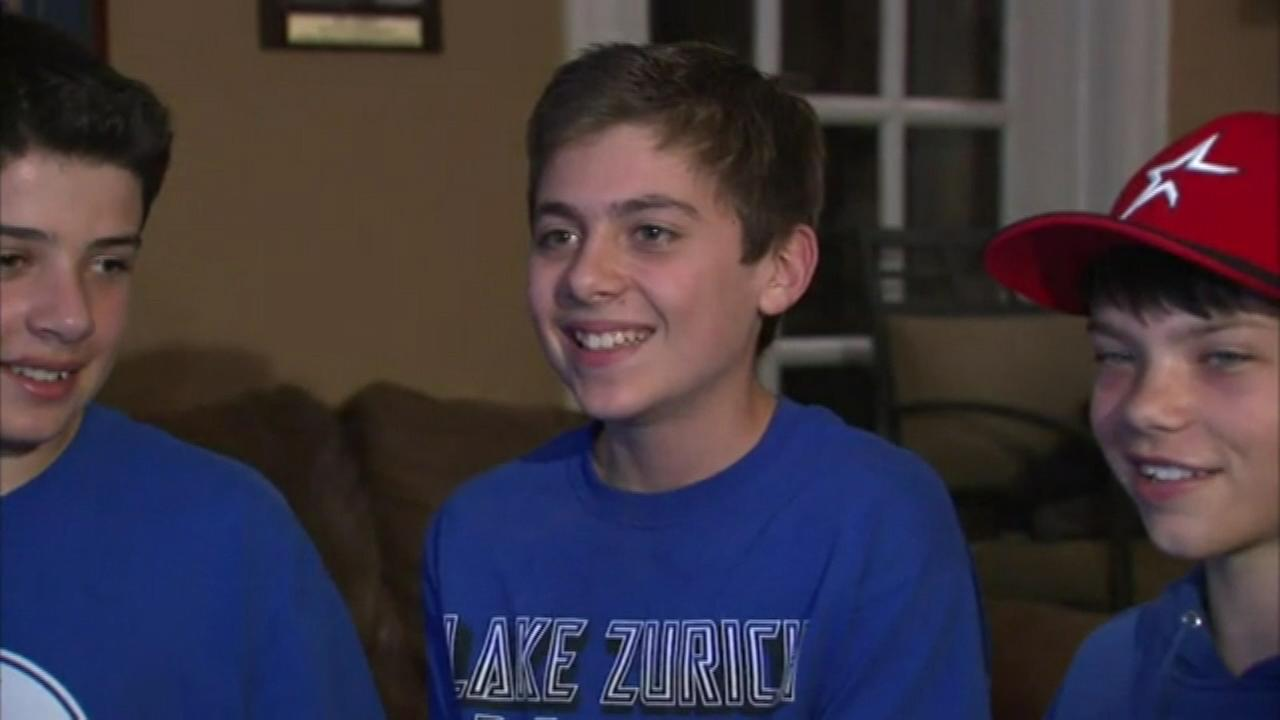 Sam Holtz, a Lake Zurich sixth grader, knows how to pick em. His NCAA basketball bracket is nearly perfect.