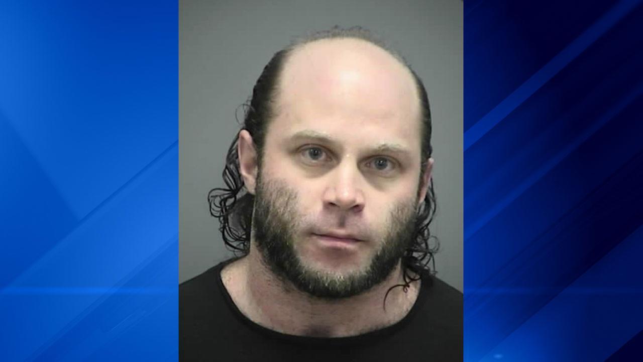 Booking photo of Joshua Van Haften, 34, of Dane County, Wisconsin.