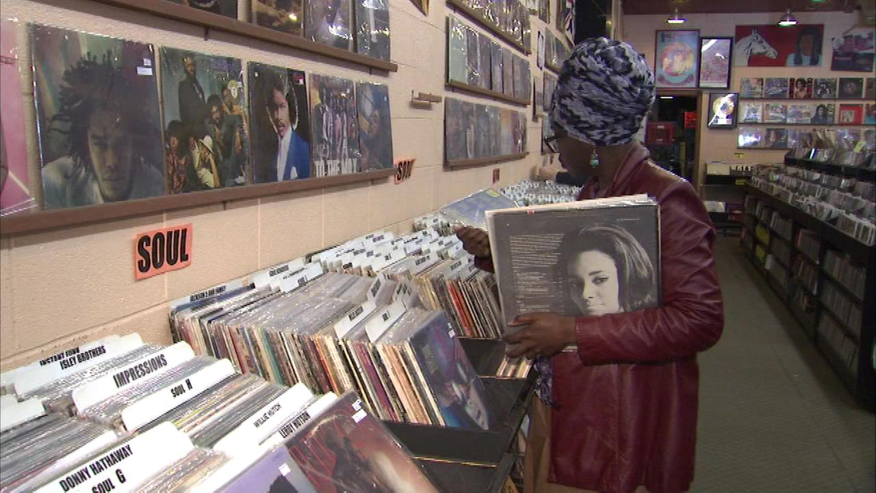 Music fans Saturday may be listening to the new music bought not online, but at a record store.
