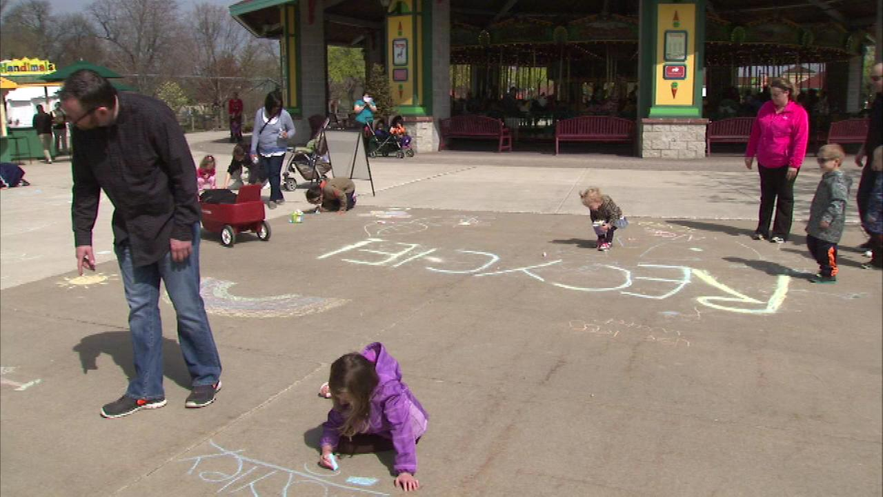 Brookfield Zoo is celebrating Earth Day with a party for the planet Sunday.