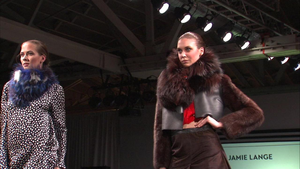 Students from five Chicago colleges and institutes are competing Friday night in a high-energy runway show.