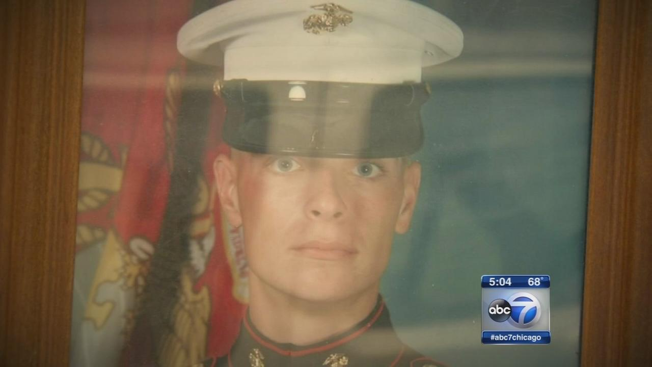 Veteran dies hours before graduation from U of I