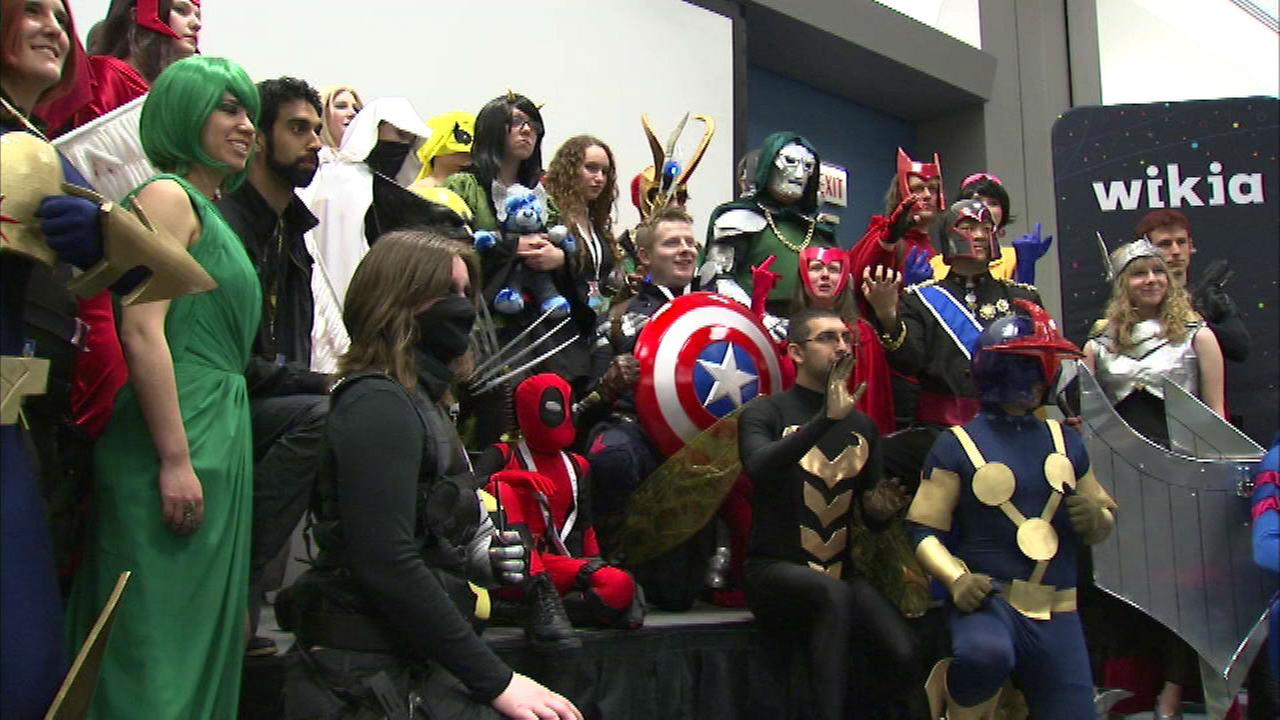 Chicago Comic Expo comes alive at McCormick Place