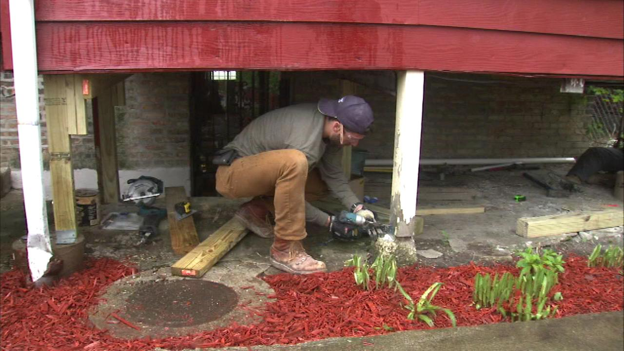 Thousands of volunteers worked together to repair dozens of homes as part of National Rebuilding Day.
