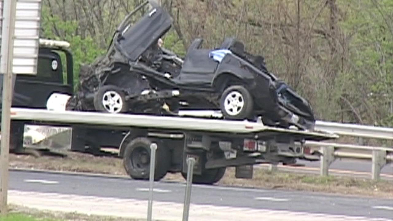 At least one person is dead following a multi-vehicle accident in south suburban Joliet Sunday morning.