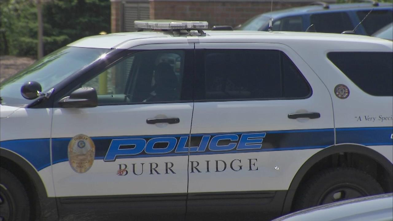 burr ridge police car