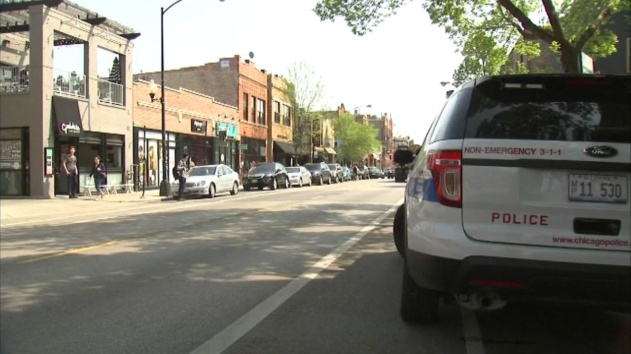 Police are investigating a robbery and stabbing at a boutique clothing store in Chicagos Wicker Park neighborhood.