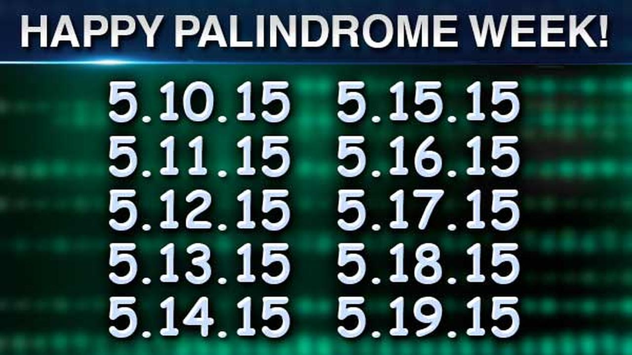 palindrome week