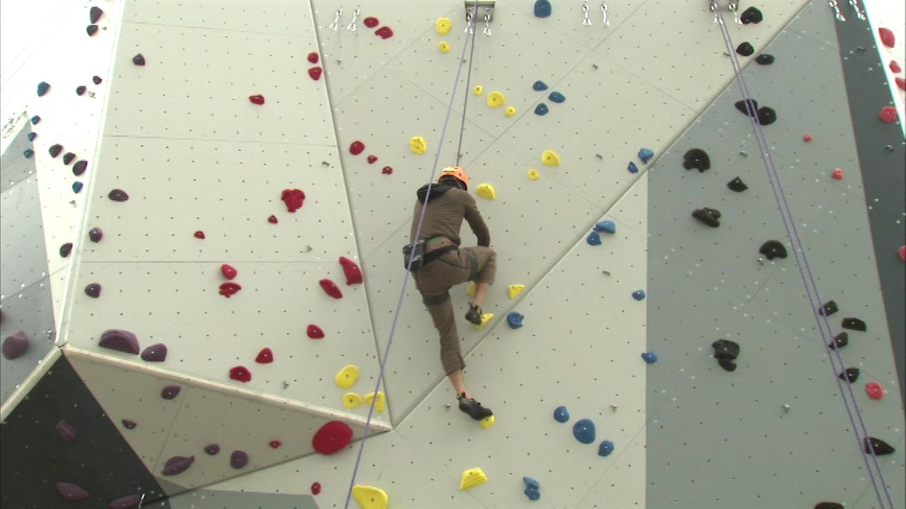 Maggie Daley Park climbing walls now open