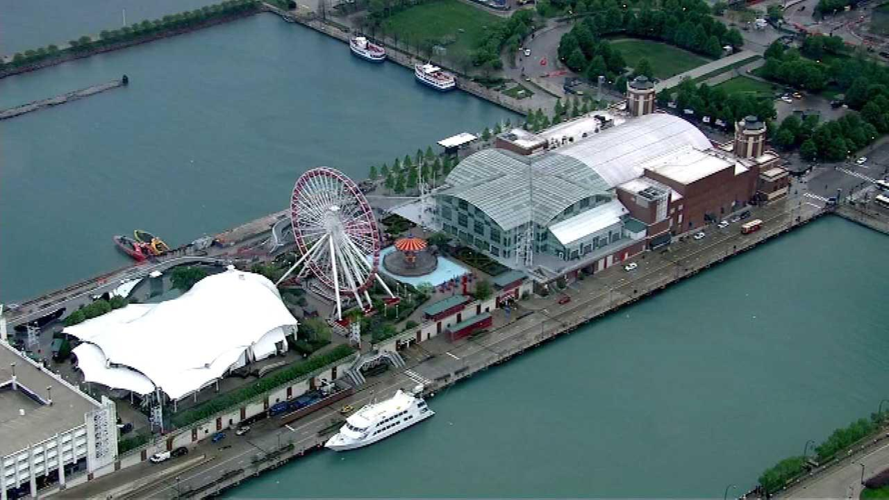 Navy Pier To Continue Fireworks Shows Every Wednesday Saturday - Chicago map navy pier