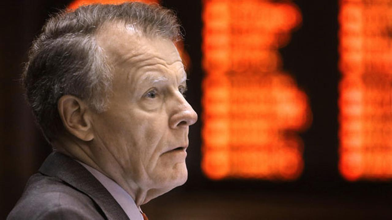 Illinois Speaker of the House Michael Madigan, listens to lawmakers argue state budget legislation while on the House floor during session in Springfield, Ill. on May 15.
