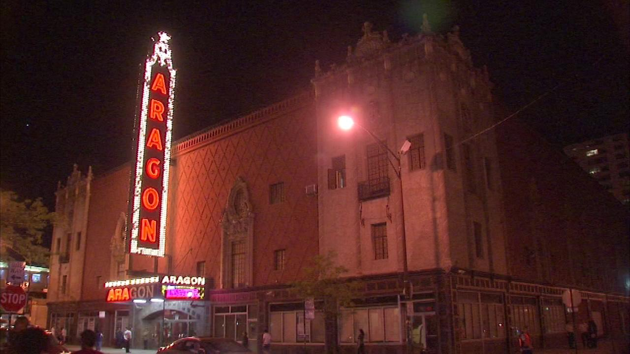 Hanover Park man dies after fall at Aragon Theater
