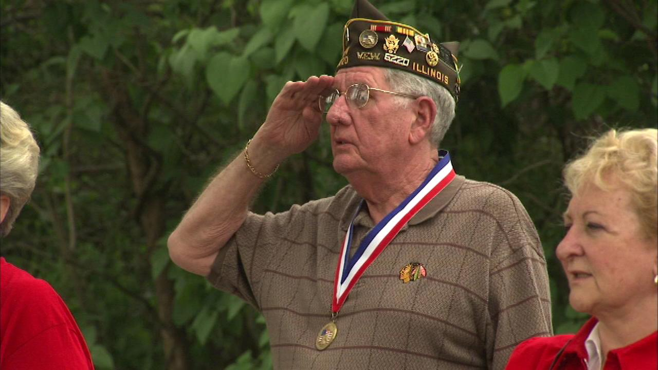 Chicago area honors veterans