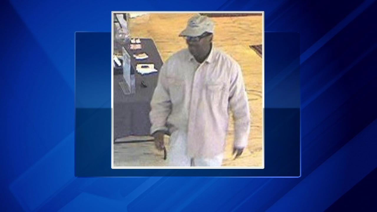 Police track alleged bank robber using GPS device