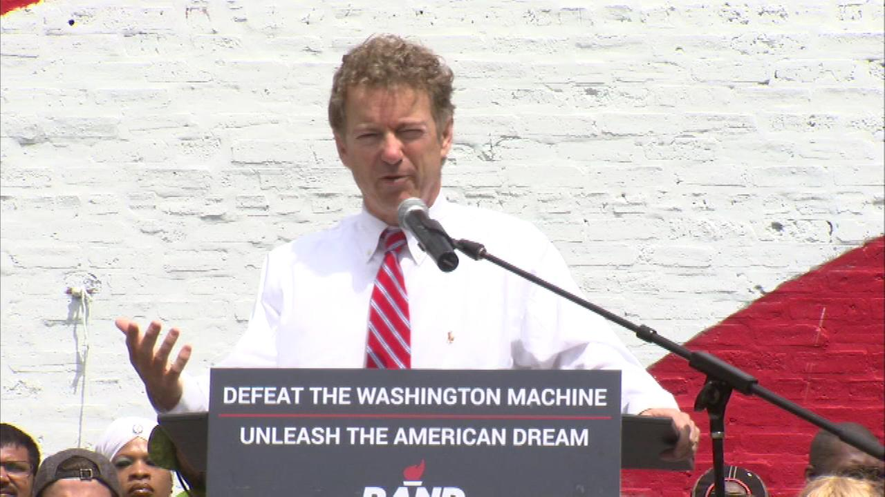 Rand Paul campaigns in Chicago