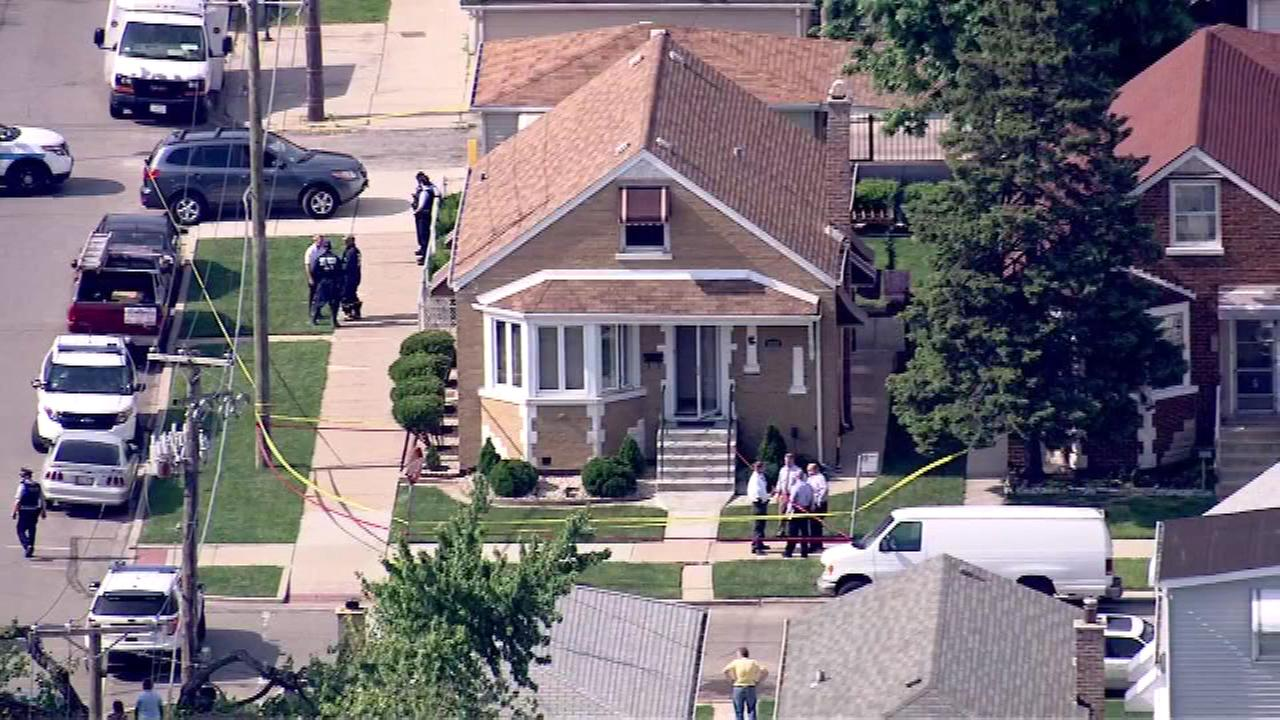Two people were found dead in a home in the 3600-block of West 55th Place on Chicagos Southwest Side, officials said.