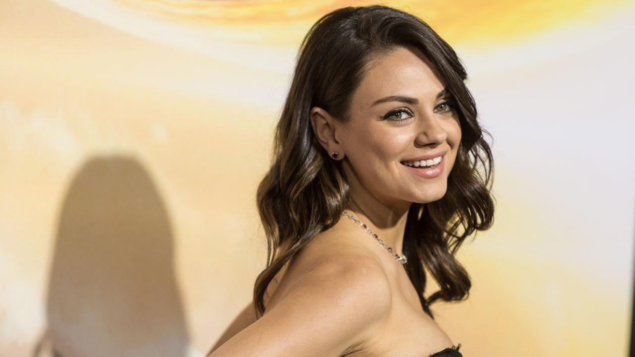 Mila Kunis attends the premiere of Warner Bros. Pictures Jupiter Ascending at TCL Chinese Theatre on Monday, Feb. 2, 2015, in Hollywood, Calif.